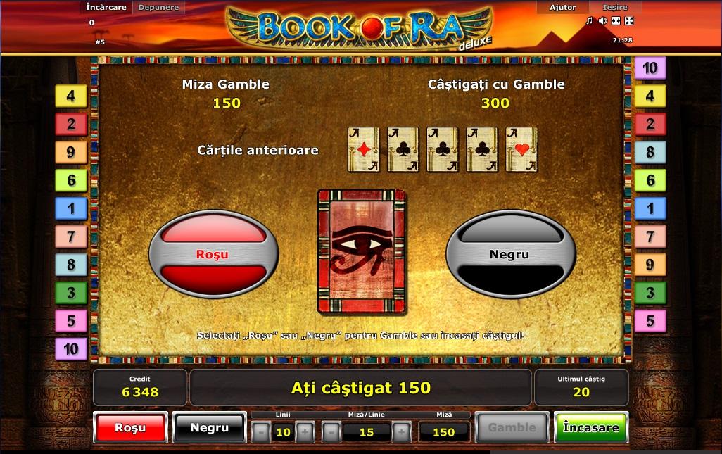 Book Of Ra Cu Miza De 900