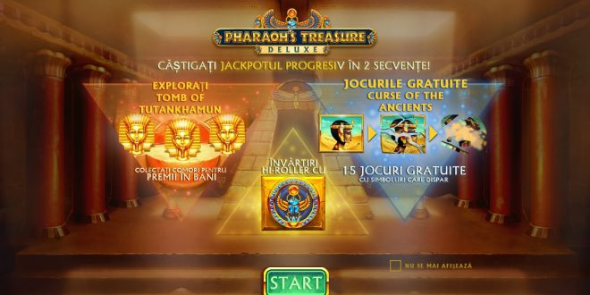 Pharaoh's Deluxe Treasure