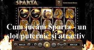 Cum jucăm Sparta - un slot puternic și atractiv