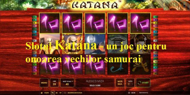 Slotul Katana - un joc pentru onoarea vechilor samurai